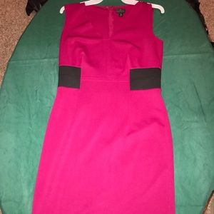 Ladies' Color block dress.